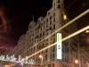 Blick auf die Gran Via von Callao Richtung Plaza de Espana.