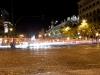 Anfang der Gran Via an der Metropolis mit Blick in Richtung Plaza de Cibeles.